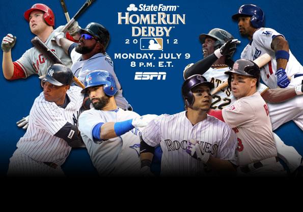 Бейсбол. Хоум-ран дерби-2012 онлайн