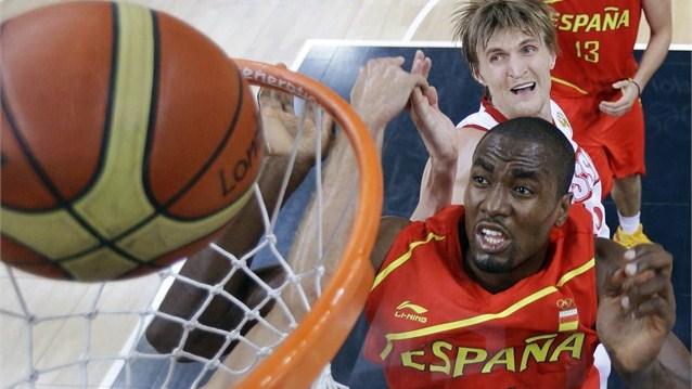Олимпийские Игры. Баскетбол. Россия - Испания.