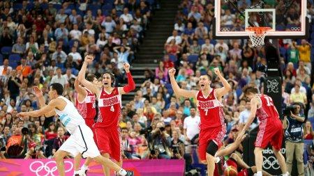 Олимпийские Игры. Баскетбол. Матч за 3ье место. Россия - Аргентина