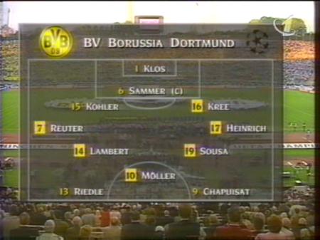 Архив / Лига Чемпионов 1996-1997. Финал. Боруссия Дортмунд - Ювентус